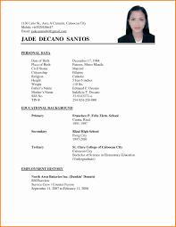 Standard Resume Format Doc Gulijobs Com