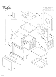 Lower oven parts on whirlpool wiring diagram