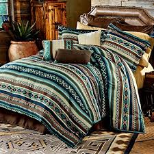 southwest style comforters. Delighful Style Home Style Southwest Turquoise Green Native American Queen Comforter 2  Shams 3 Decorative Pillows With Comforters E