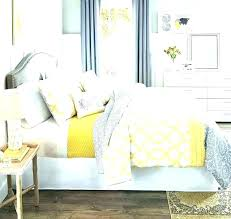 yellow and white bedding gray quilt sets grey nursery set se