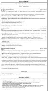 Informatics Analyst Resume Sample Mintresume