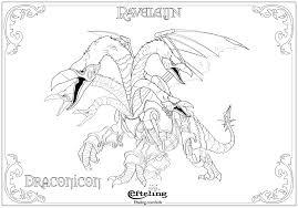 Draconicon Van Raveleijn Efteling Kleurplaat Diycraft Color Me
