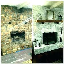 refacing a brick fireplace with stone veneer fireplace cost to reface brick fireplace with stone veneer