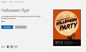 free halloween stationery templates 12 free halloween themed templates for microsoft word