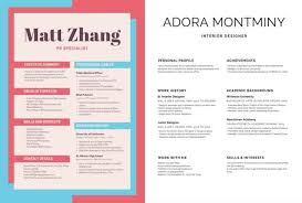 Canva Free Resume Maker, Free Professional Simple Resume Templates To Customize Canva