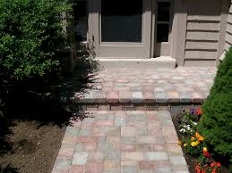patio pavers over concrete. Fine Over Pavers Over Concrete Stoop And Patio B