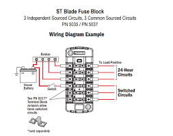 blue sea systems fuse block for 6 independent circuits p n 5035 Motorguide Wiring Diagram at Blue Sea Systems Wiring Diagrams