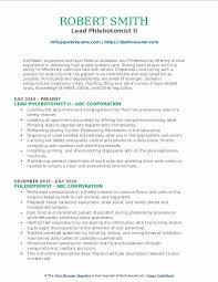 Resumes For Phlebotomist Phlebotomy Skills For Resume Fresh Phlebotomist Resume