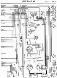 1963 ford galaxie lighting system 1963 Ford Wiring Diagram ford galaxie wiring diagram electrical lighting schematic 1953 ford wiring diagram