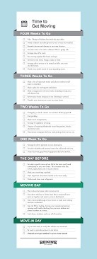 Moving Checklist 4 Week Countdown Bekins