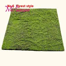 forest style artificial moss turf plant 1mx1m moss wall decoration grass landscape home flower decorative simulation plants no 6 in artificial dried  on artificial forest fern green wall foliage with forest style artificial moss turf plant 1mx1m moss wall decoration