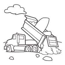 Dump Truck Coloring Pages Upperiowaorg
