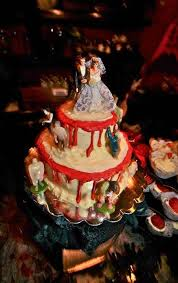 the 25 best zombie wedding cakes ideas on pinterest halloween Zombie Wedding Decorations zombie wedding cakes zombie wedding cake photo 7 278x442 zombie wedding cake photo 7 zombie wedding supplies