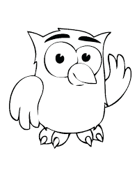Cartoon Owl Pictures To Print Cute Owl Pages Owl Books In Addition