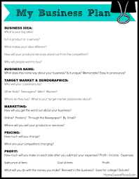 Printable Business Plan Business Plan Outline Plans For A Boutique Elements Of Free 1