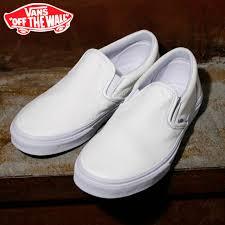 vans sneakers classic slip on slip on in classic premium leather premium leather white