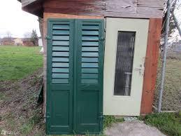 Balkonläden Antike Fensterläden Aus Holz Holzladen Fenster In