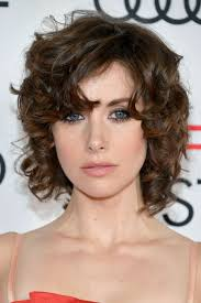alison brie curly hair