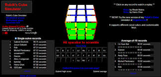 online cube 7 websites for those who want to solve the rubiks cube with a bit