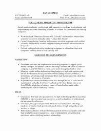 Social Media Media Resume As Resume Objective Rojnamawarcom