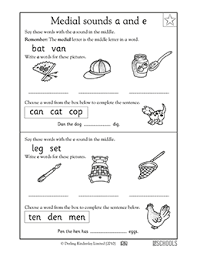 Click on any of the items below to download. 1st Grade Reading Worksheets Word Lists And Activities Page 7 Of 10 Greatschools