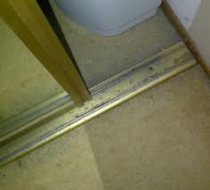 user submitted a photo of a closet door track
