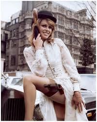 Joanna Lumley as Purdey The Avengers 1972 Joanna lumley and.