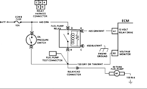 wiring diagram 1988 chevy s10 fuel pump the wiring diagram voltage is only 8 9 volts to in tank fuel pump on 89 s10 4 3