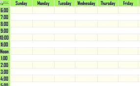 Weekly Timetable Planner Weekly Table Template Timetable Printable Food Time