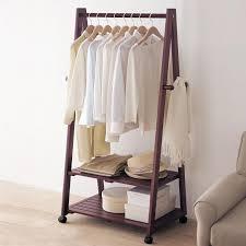 Wooden Coat Rack With Storage Custom Jiayi Wood Coat Rack Bedroom Storage Clothes Rack Modern Minimalist