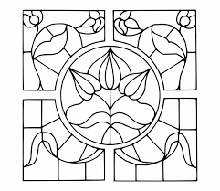 Glass Template Pattern Template Stained Glass Window Design Stained Glass