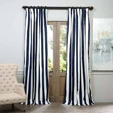 rugby curtain navy stripe curtain exclusive fabrics cabana navy cotton striped curtain panel navy white rugby