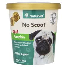 NaturVet <b>No Scoot Dog</b> Soft Chews, Pack of 60 chews | Petco