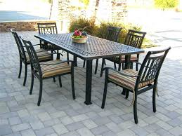 wood patio dining sets wood patio dining table 7 piece patio dining set patio furniture table