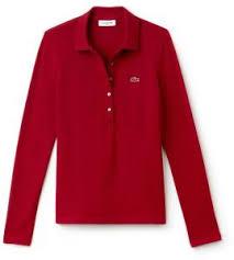 lacoste shirt for women bordeaux