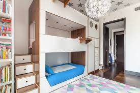 Interior Design Kids Bedroom Best Casa Kids Designed A Triple Bunk Bed Packed With Storage For Kids