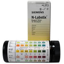 Siemens N Labstix B N G P K Ph Tube Of 100