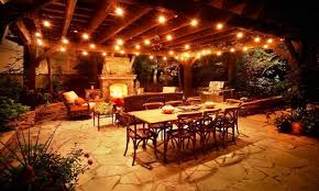 covered patio lights. How To Hang String Lights On Covered Patio