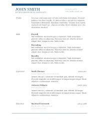 Cv Template Office Microsoft Office Word 2013 Resume Template Cv Tailoredswift Co