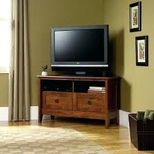 Mission Style Tv Stand Oak Corner Stand Storage Drawers Wood Mission ...