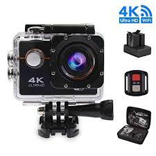 4k wifi action camera 1080p hd 16mp helmet cam waterproof dv remote control sports video dvr
