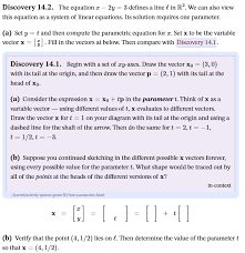 Well organized and easy to understand web building tutorials with lots of examples of how to use html, css, javascript, sql, php, python how to center the vertical line in your page: Solved Discovery 14 2 The Equation X 2y 3 Defines A Chegg Com