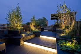 deck stair lighting ideas. 27 Outdoor Step Lighting Ideas That Will Amaze You Deck Stair 7