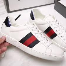 gucci ace low top leather sneaker designergu