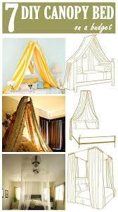 7 DIY Canopy Beds   DIY Projects   Pinterest   Diy canopy, Bedroom ...