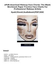 Epub Download Makeup Face Charts The Blank Workbook Paper