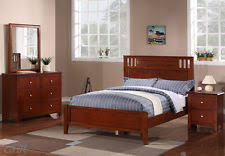 cherry wood bedroom set. NEW 4PC ATTICA II CONTEMPORARY RICH CHERRY FINISH WOOD TWIN Or FULL BEDROOM SET Cherry Wood Bedroom Set E