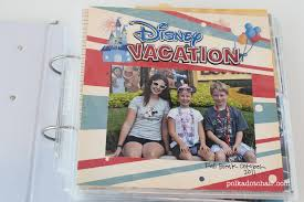 Vacation Albums Diy Disney Vacation Album Ideas A Simple Album