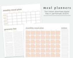 Meal Prep Printable | Etsy