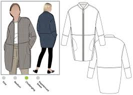 Coat Sewing Patterns Best Casey Coat Style Arc